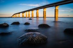 Γέφυρα Oland Στοκ φωτογραφίες με δικαίωμα ελεύθερης χρήσης