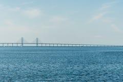Γέφυρα Oresund Στοκ εικόνα με δικαίωμα ελεύθερης χρήσης