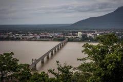 Γέφυρα Pakse σε Champasak, Λάος Στοκ Φωτογραφίες