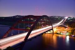 Γέφυρα Pennybacker στοκ εικόνα