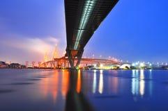 γέφυρα phumibol Στοκ Εικόνα