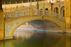 Γέφυρα Plaza de España Στοκ φωτογραφίες με δικαίωμα ελεύθερης χρήσης