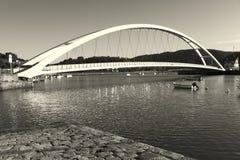 Γέφυρα Plentzia Στοκ φωτογραφία με δικαίωμα ελεύθερης χρήσης
