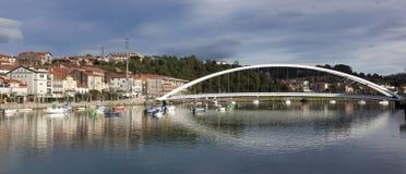 Γέφυρα Plentzia, Bizkaia Στοκ Εικόνες