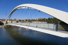 Γέφυρα Plentzia, Bizkaia Στοκ Φωτογραφία
