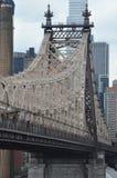 Γέφυρα Queensboro στην πόλη της Νέας Υόρκης Στοκ Εικόνες