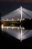 Γέφυρα Redzinski σε Wroclaw, Πολωνία Στοκ Εικόνα