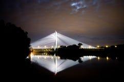 Γέφυρα Redzinski σε Wroclaw, Πολωνία Στοκ Φωτογραφία
