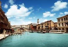 Γέφυρα Rialto στη Βενετία στοκ φωτογραφία με δικαίωμα ελεύθερης χρήσης