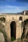 Γέφυρα ronda Ισπανία Στοκ Εικόνες