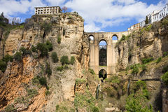 Γέφυρα Ronda Στοκ Φωτογραφίες