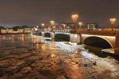Γέφυρα Sampsonievsky, sankt-Peterburg Στοκ εικόνα με δικαίωμα ελεύθερης χρήσης