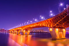 Γέφυρα Seongsu στην Κορέα Στοκ φωτογραφία με δικαίωμα ελεύθερης χρήσης