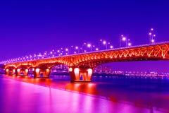 Γέφυρα Seongsu στη Σεούλ στοκ φωτογραφίες με δικαίωμα ελεύθερης χρήσης
