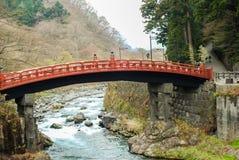 Γέφυρα Shinkyo, Nikko, Ιαπωνία Στοκ εικόνα με δικαίωμα ελεύθερης χρήσης