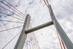 Γέφυρα Siekierkowski Στοκ Φωτογραφία