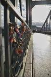 Γέφυρα Steg Eiserner Στοκ Εικόνες