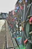 Γέφυρα Steg Eiserner Στοκ εικόνα με δικαίωμα ελεύθερης χρήσης