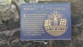 Γέφυρα Stirling Στοκ φωτογραφία με δικαίωμα ελεύθερης χρήσης