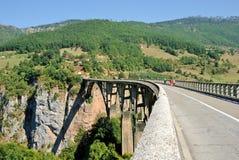 γέφυρα Tara Στοκ Φωτογραφίες
