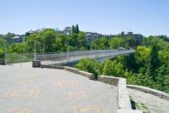 γέφυρα teshchin Στοκ φωτογραφίες με δικαίωμα ελεύθερης χρήσης