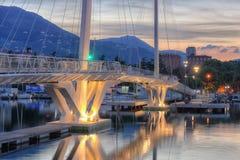 Γέφυρα Thaon Di Revel, Λα Spezia, Cinque Terre Στοκ Εικόνα