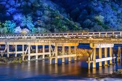 Γέφυρα Togetsukyo Στοκ Εικόνα