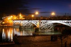 Γέφυρα Triana Στοκ φωτογραφίες με δικαίωμα ελεύθερης χρήσης