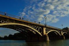 Γέφυρα Triana Στοκ Εικόνες