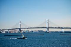 Γέφυρα Tsubasa Tsurumi στον κόλπο Yokohama, Yokohama Ιαπωνία Στοκ φωτογραφία με δικαίωμα ελεύθερης χρήσης