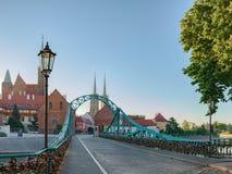 Γέφυρα Tumski Στοκ Φωτογραφίες