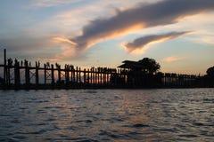 Γέφυρα Ubein Στοκ φωτογραφία με δικαίωμα ελεύθερης χρήσης