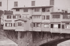 Γέφυρα Vecchio Ponte  Φλωρεντία Στοκ φωτογραφία με δικαίωμα ελεύθερης χρήσης
