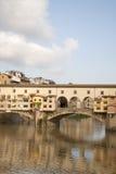 Γέφυρα Vecchio Ponte, Φλωρεντία Στοκ εικόνες με δικαίωμα ελεύθερης χρήσης