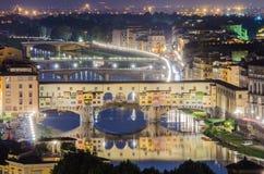 Γέφυρα Vecchio Ponte Στοκ εικόνες με δικαίωμα ελεύθερης χρήσης