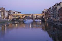 Γέφυρα Vecchio Ponte Στοκ Εικόνες
