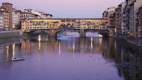 Γέφυρα Vecchio Ponte Στοκ Εικόνα