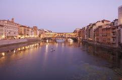 Γέφυρα Vecchio Ponte Στοκ φωτογραφίες με δικαίωμα ελεύθερης χρήσης