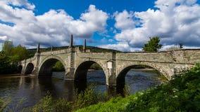 Γέφυρα Wades, Aberfeldy Στοκ φωτογραφία με δικαίωμα ελεύθερης χρήσης