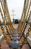 γέφυρα wobbly Στοκ εικόνα με δικαίωμα ελεύθερης χρήσης