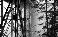 γέφυρα woodby Στοκ εικόνα με δικαίωμα ελεύθερης χρήσης