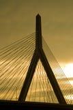 γέφυρα zakim Στοκ φωτογραφίες με δικαίωμα ελεύθερης χρήσης