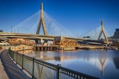 Γέφυρα Zakim Στοκ Εικόνες