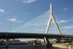 γέφυρα zakim Στοκ φωτογραφία με δικαίωμα ελεύθερης χρήσης