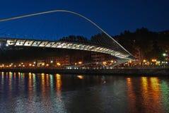 Γέφυρα Zubizuri, Euskadi, Ισπανία Στοκ Εικόνα