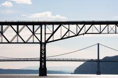 γέφυρες δύο Στοκ φωτογραφίες με δικαίωμα ελεύθερης χρήσης