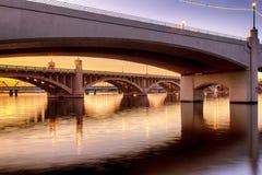 Γέφυρες λεωφόρων μύλων στο Φοίνικας στοκ εικόνες