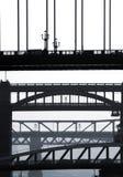 γέφυρες Νιουκάσλ στοκ φωτογραφίες με δικαίωμα ελεύθερης χρήσης