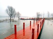 γέφυρες ξύλινες Στοκ φωτογραφία με δικαίωμα ελεύθερης χρήσης