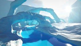 Γέφυρες πάγου απεικόνιση αποθεμάτων